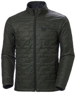 Helly Hansen Men's Lifaloft Insulator Jacket in Beluga from the front