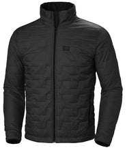 Load image into Gallery viewer, Helly Hansen Men's Lifaloft Insulator Jacket in Black Matte from the front