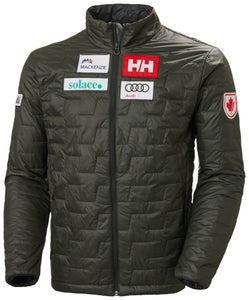 Helly Hansen Men's Lifaloft Insulator Jacket in Can Beluga from the front