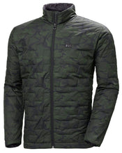 Load image into Gallery viewer, Helly Hansen Men's Lifaloft Insulator Jacket in Forest Night Camo from the front