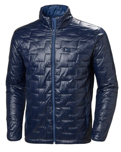 Helly Hansen Men's Lifaloft Insulator Jacket in Navy from the front