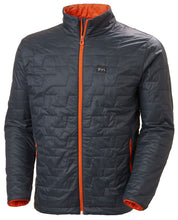 Load image into Gallery viewer, Helly Hansen Men's Lifaloft Insulator Jacket in Slate from the front