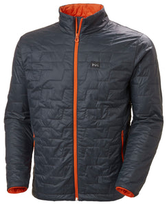 Helly Hansen Men's Lifaloft Insulator Jacket in Slate from the front