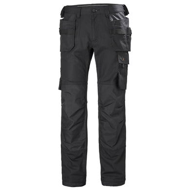 Helly Hansen Men's Oxford Construction Na Pant in Black from the front