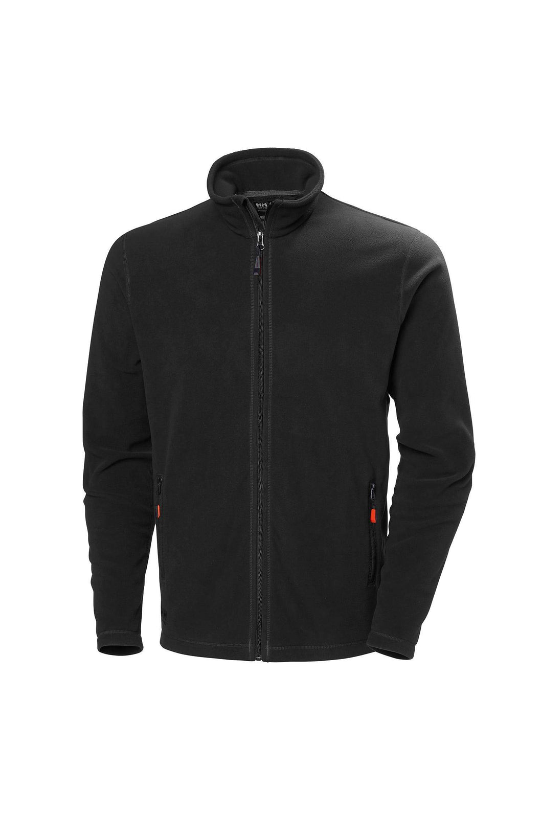 Helly Hansen Men's Oxford Light Fleece Jacket in Black from the front
