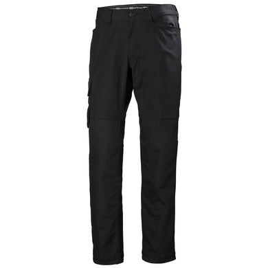 Helly Hansen Men's Oxford Service Na Pant in Black from the front