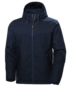 Helly Hansen Men's Oxford Winter Jacket in Navy from the front
