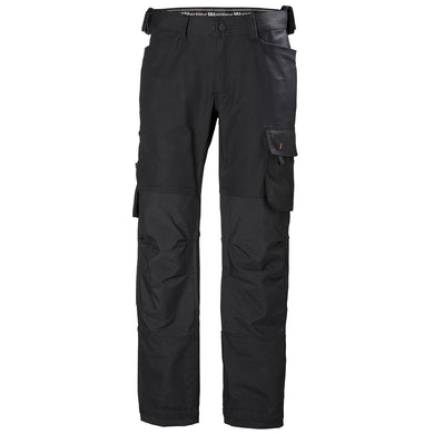 Helly Hansen Men's Oxford Work Na Pant in Black from the front