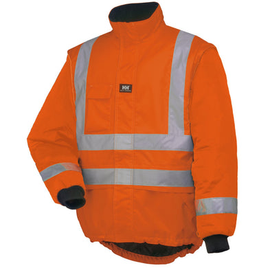 Helly Hansen Men's Potsdam Liner Jacket in Orange from the front