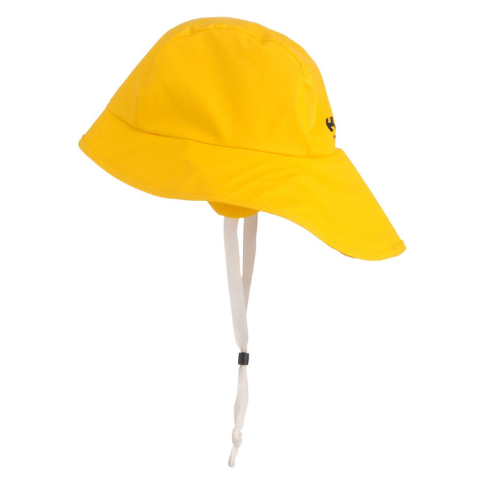 Helly Hansen Men's Svolvaer Sou'Wester Rain Hat in Light Yellow from the side