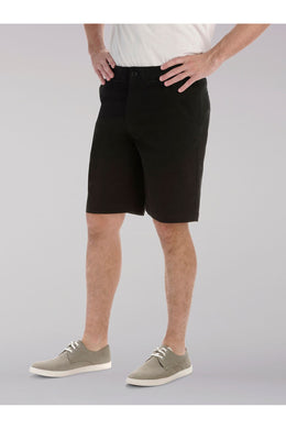 Big and Tall Extreme Comfort Short in Black from Front View