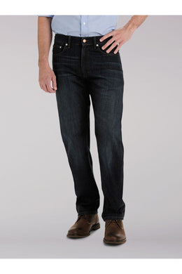 Big and Tall Premium Select Relaxed Fit Straight Leg Jean in Bowery from Front View