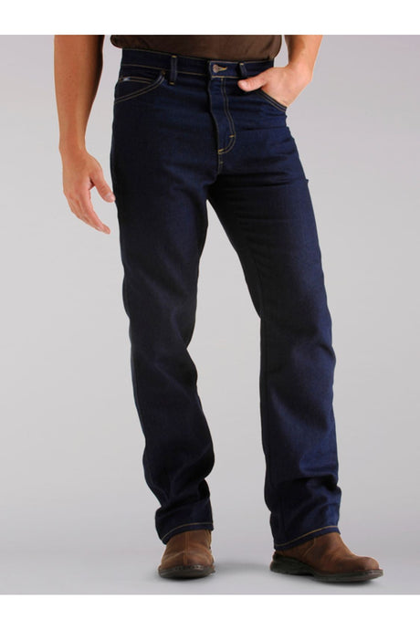 Big and Tall Regular Fit Straight Leg Stretch Jean in Indigo Stretch from Front View