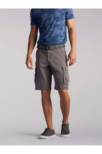 Big and Tall Wyoming Cargo Short in Vapor from Front View