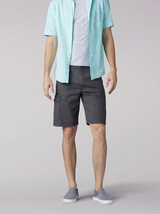 Extreme Motion Swope Cargo Short in Shadow from Front View