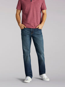 Modern Series Straight Leg Jean in Icon from Front View