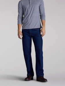 Regular Fit Bootcut Jean in Pepper Wash from Front View