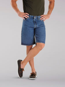 Men's Lee Regular Fit Denim Short in Pepper Stone