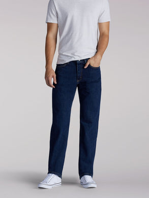 Relaxed Fit Straight Leg Jean in Tomas from Front View