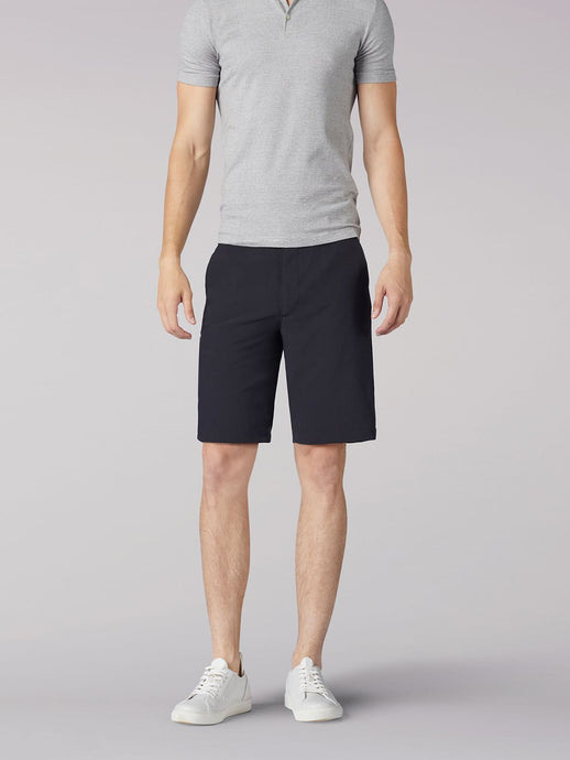 Tri-Flex Short in Black from Front View