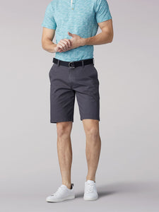 Men's Lee Walker Flat Front Short in Light Blue