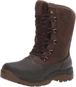 Men's Muck Boot Arctic Grip Outpost Lace Boot in Brown