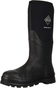 Men's Muck Boot Muck Chore Cool 16 in Safety Toe Boot in Black