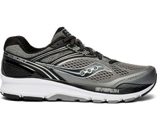 Load image into Gallery viewer, Saucony Men's Echelon 7 Running Shoe in Grey/Black from the side