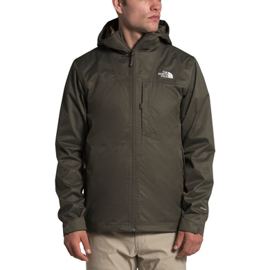 Men's The North Face Arrowood Triclimate Jacket in New Taupe Green/Utility Brown from the front