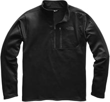Load image into Gallery viewer, Men's The North Face Canyonlands One Half Zip  in TNF Black