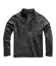Load image into Gallery viewer, Men's The North Face Canyonlands One Half Zip  in TNF Dark Grey Heather