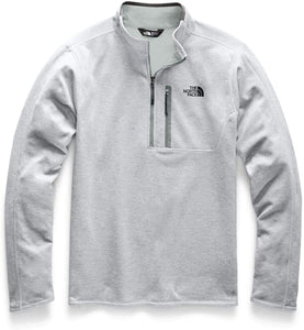 Men's The North Face Canyonlands One Half Zip  in TNF Light Grey Heather