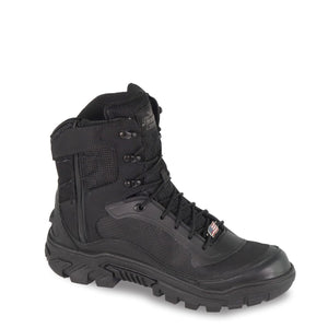 "Thorogood 834-6016 Men's Veracity GTX 7"" Waterproof Uniform Boot in Black from the side"