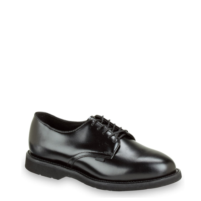 Thorogood 834-6027 Men's Classic Leather Oxford Shoe in Black from the side