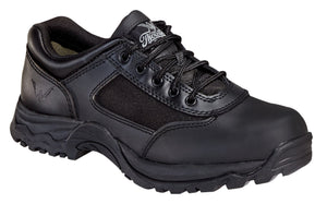 Thorogood 834-6042 Men's Academy Uniform Non-Safety Toe Oxford Shoe in Black from the side