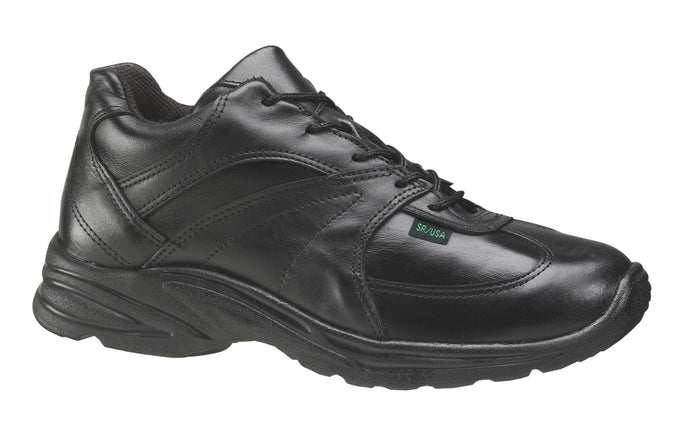 Thorogood 834-6931 Men's Street Athletics Oxford Freedom Uniform Shoe in Black from the side
