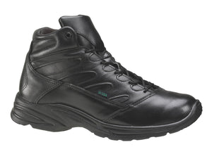 Thorogood 834-6933 Men's Liberty Mid Cut Uniform Shoe in Black from the side
