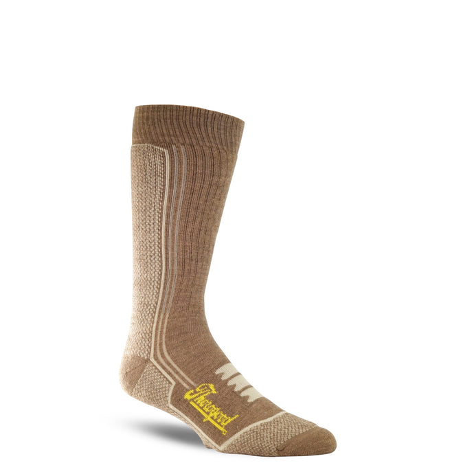 Thorogood Men's Heavy Duty Sock in Coyote from the side
