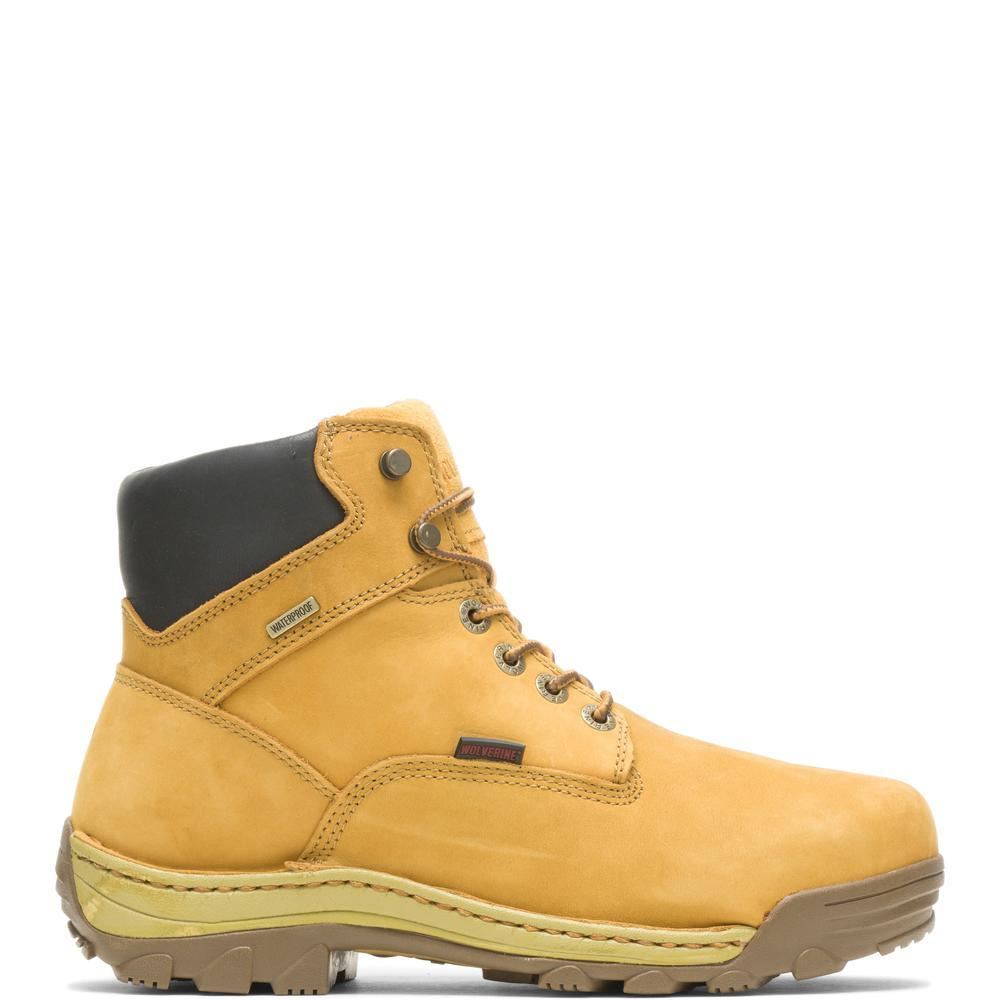 Men's Wolverine Dublin Waterproof Insulated 6 Boot in Wheat