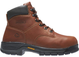 Men's Wolverine Harrison Lace-Up 6 Work Boot in Brown