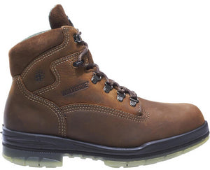 Men's Wolverine I-90 Durashocks Waterproof Insulated 6 Work Boot in Brown