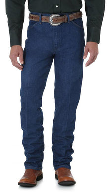 Men's Wrangler Cowboy Cut Jean Slim Fit in Prewashed Indigo from the front