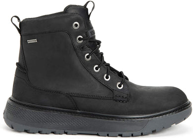 Men's Xtratuf Bristol Bay Work Boot in Black from the side