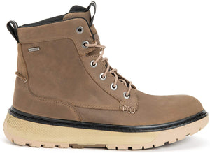 Men's Xtratuf Bristol Bay Work Boot in Taupe from the side