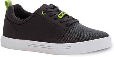 Men's Xtratuf Topwater Deck Shoe in Black from the side