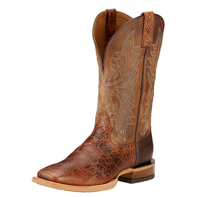 Men's Ariat Cowhand Western Boot in Adobe Clay