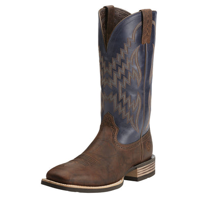 Men's Ariat Tycoon Western Boot in Bar Top Brown