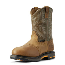 Load image into Gallery viewer, Men's Ariat WorkHog Waterproof Composite Toe Work Boot in Aged Bark