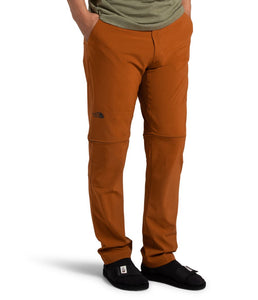 Men's The North Face Paramount Active Convertible Pant in Caramel Cafe from the front