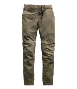 Men's The North Face Paramount Active Convertible Pant in Taupe Green from the front